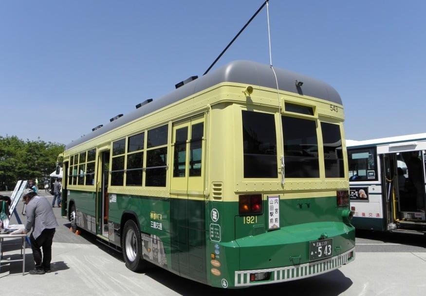 伊勢神宮へのお参りの際に利用した「三重交通神都線」の「チンチン電車」が存在 (2)