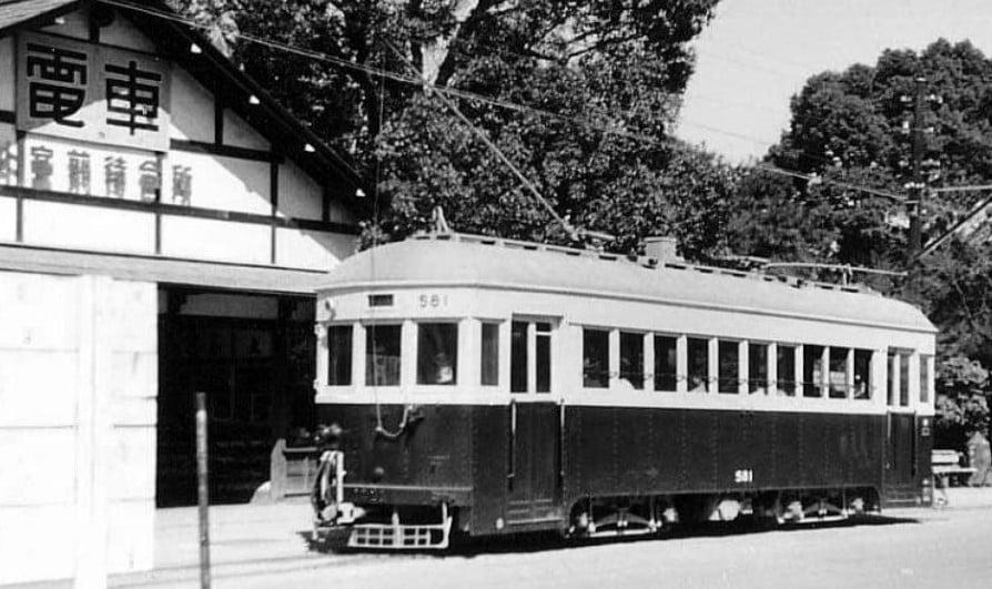 伊勢神宮へのお参りの際に利用した「三重交通神都線」の「チンチン電車」が存在