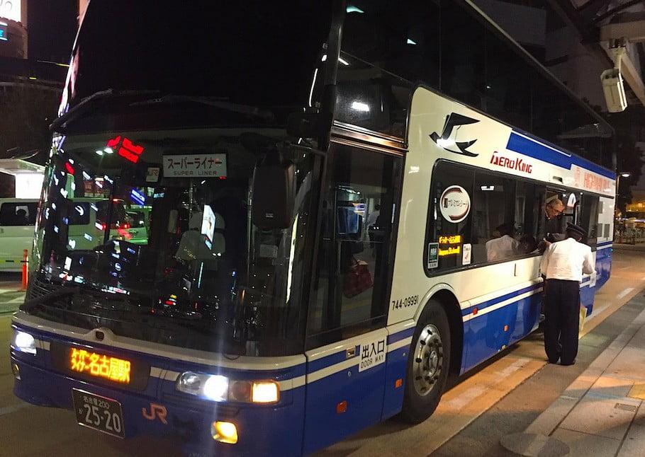 高速バス(夜行バス)での、名古屋から伊勢神宮までのアクセス・行き方