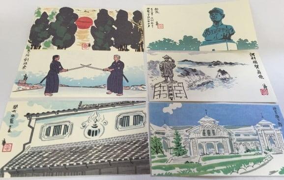 伊勢だより版画」(1,080円)