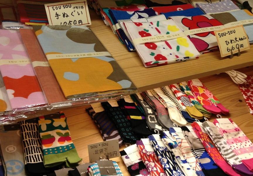伊勢木綿と、東京・青山のファッションブランド「sousou」がコラボした商品