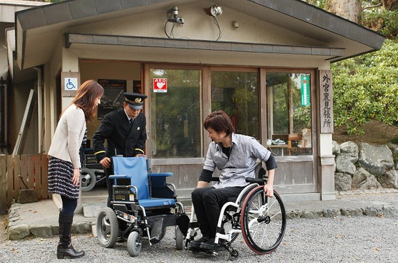 伊勢神宮でレンタルできる車椅子の貸し出し場所って??