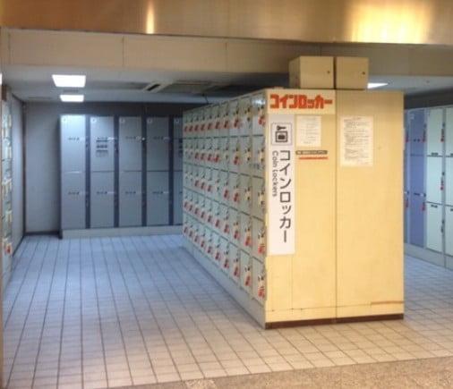 内宮の最寄り駅である「近鉄五十鈴川駅」「伊勢市駅」「宇治山田駅」にも200個のコインロッカーがある