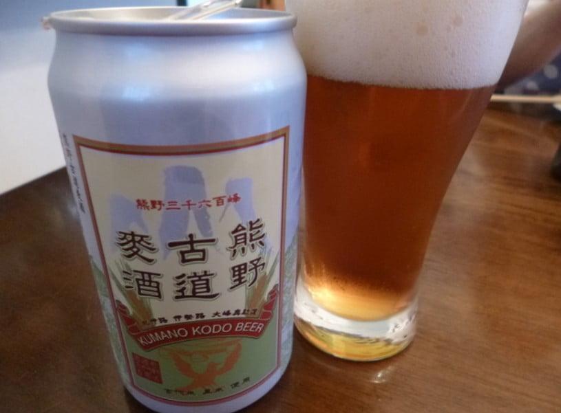 地ビール「熊野古道麦酒」