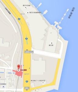 鳥羽港に着いてからは、近くの駐車場に車を置いて、目の前にある近鉄志摩線の「中之郷(なかのごう)」駅で乗車して、宇治山田駅に向かう方法がお勧めです。