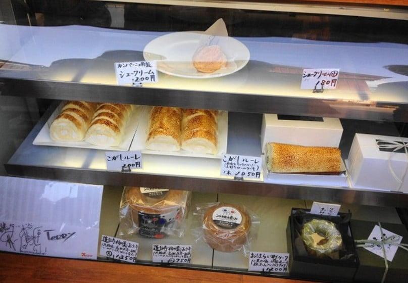 おはらい町」の中で唯一の洋菓子店。何といってもここの名物はシュークリーム