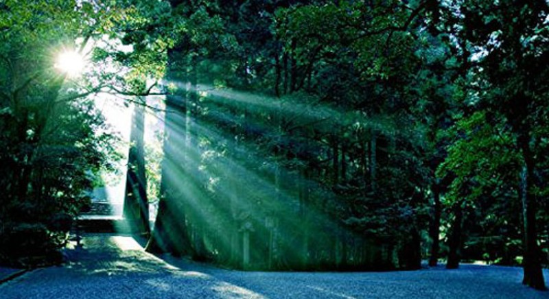 んんっ?!伊勢神宮の「とある場所」で「とある白い布」がメクれると「天照御大神の白い風」が吹く??