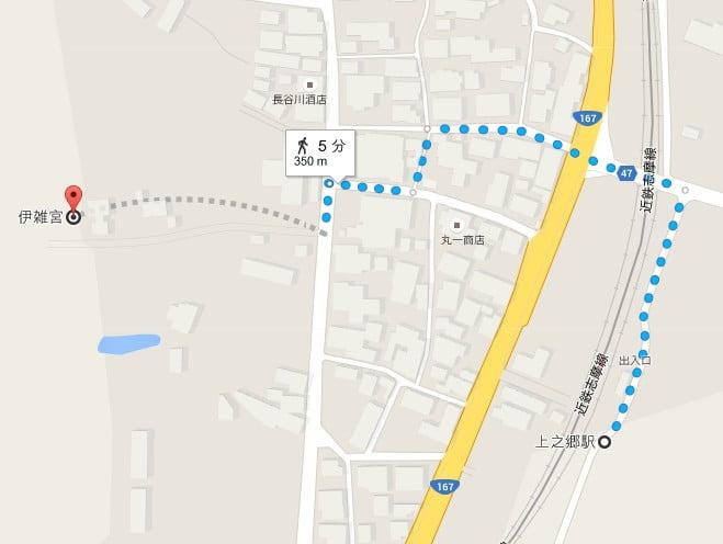 「近鉄伊勢市駅」から「伊雑宮」まで「電車(近鉄)」でのアクセス・行き方