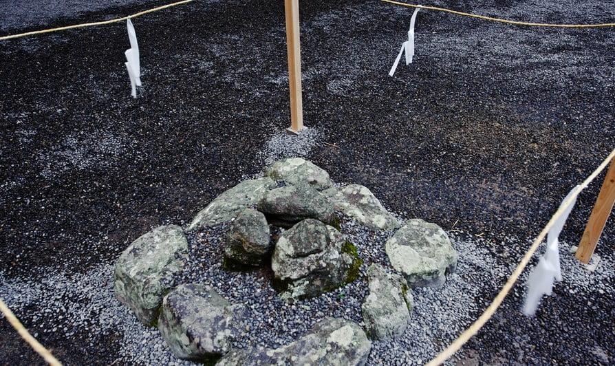伊勢神宮パワースポット「三ツ石」