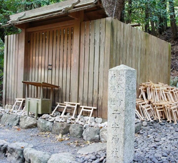 伊勢神宮(-JINGU-)◆子安神社(KOYASU-JINJA)