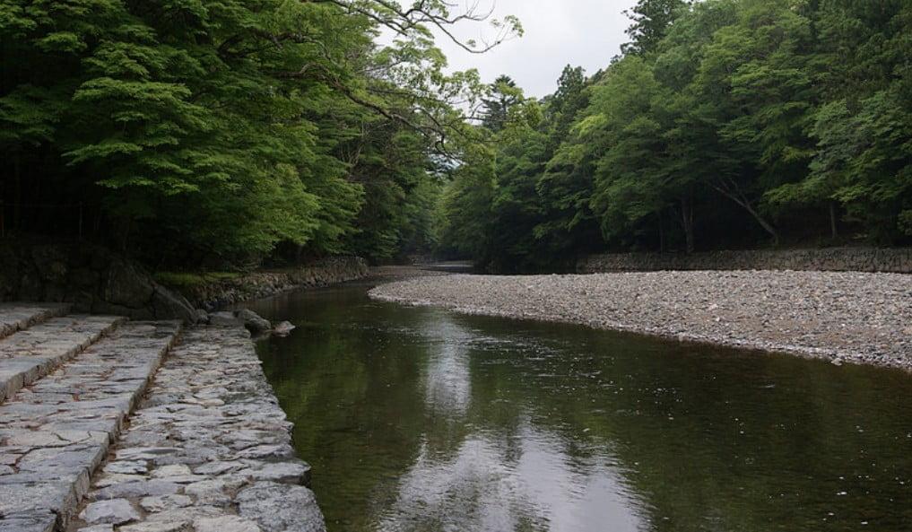 伊勢神宮(-JINGU-)◆ 御手洗場(MITARASHIBA)