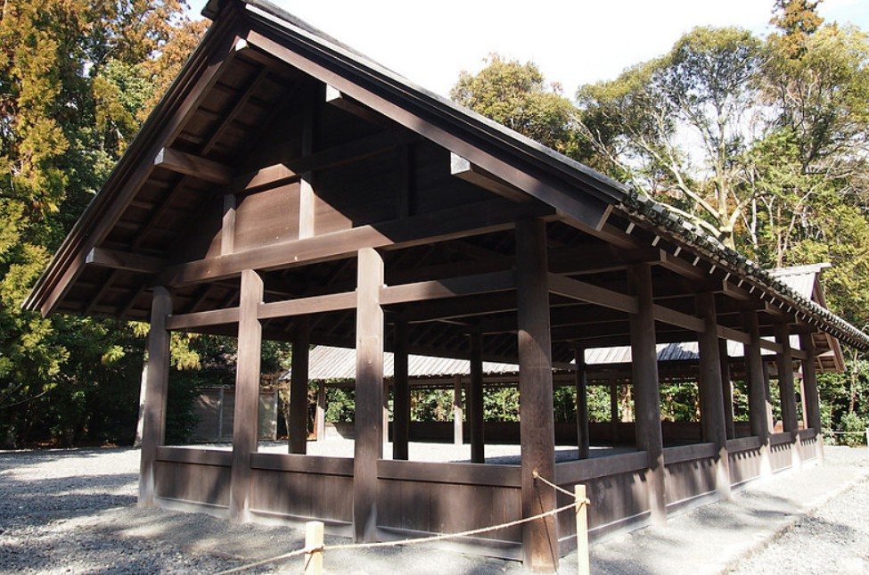 伊勢神宮(-JINGU-)◆ 九丈殿(KUJO-DEN)