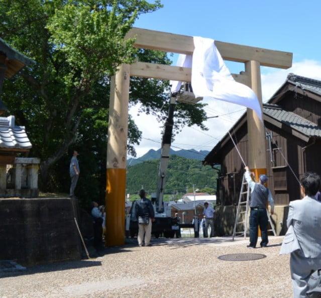 伊勢への入口、東の追分・鈴鹿関(関宿)の門