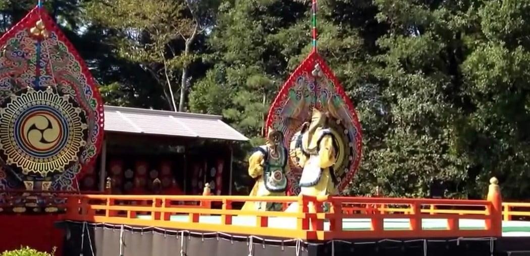 伊勢神宮・内宮「神苑」の「秋の神楽祭」 (2)