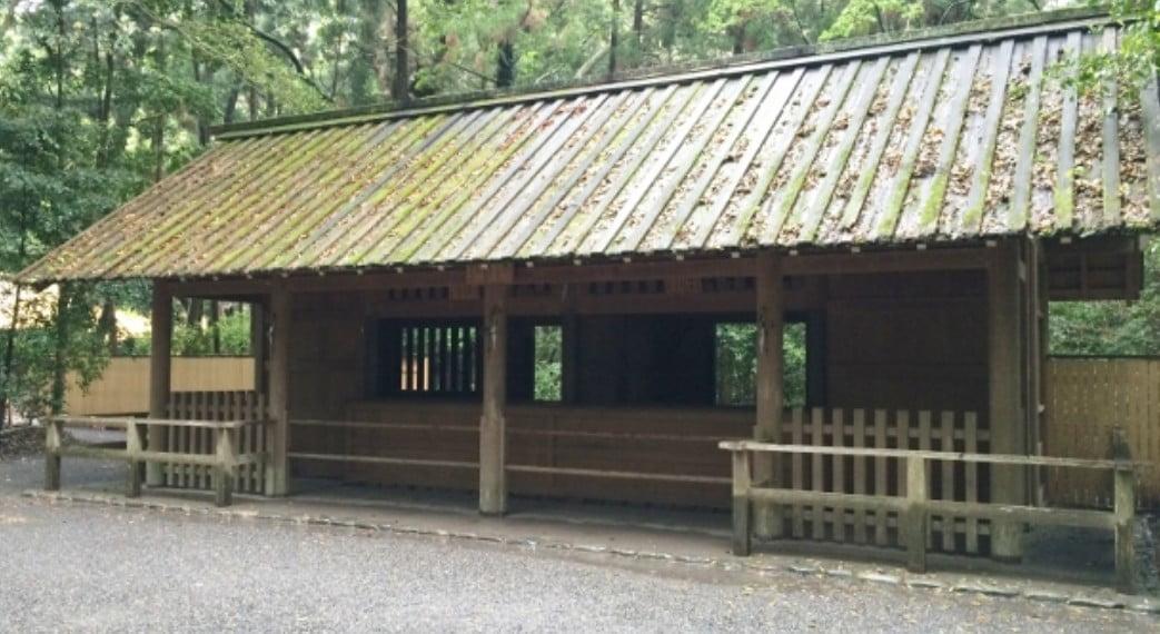 伊勢神宮(-JINGU-)◆ 御厩(MIUMAYA)