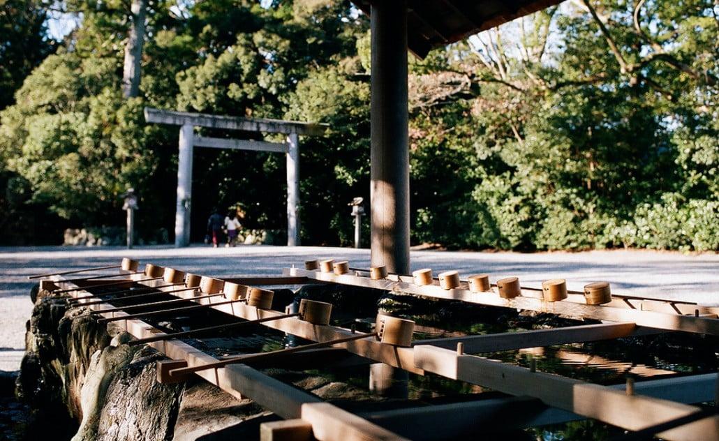 伊勢神宮(-JINGU-)◆ 手水舎(CHOZUYA)