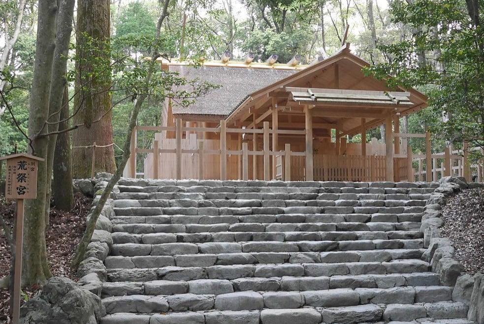 伊勢神宮(-JINGU-)◆ 荒祭宮(ARAMATSURI-NO-MIYA)