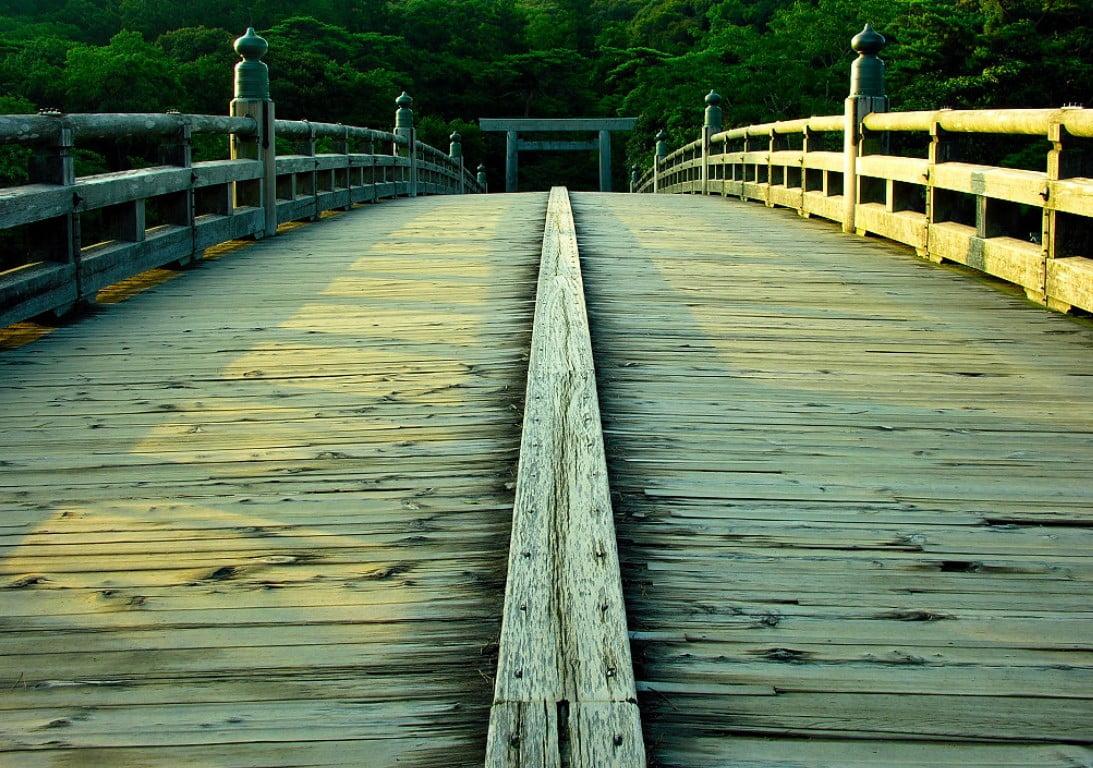 伊勢神宮(-JINGU-)◆ 宇治橋(UJI-BASHI)