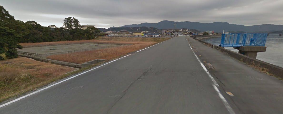御塩殿神社・塩田と水門
